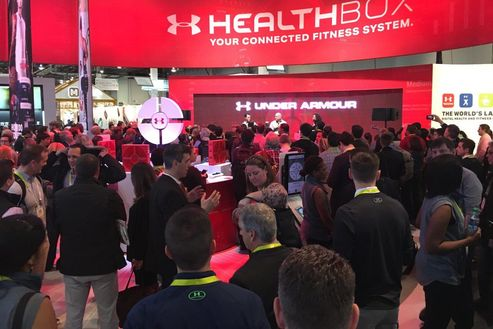 Image 5 for Under Armour Connected Fitness at CES 2016