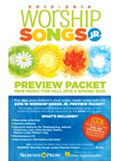 2015-16 Worship Songs Junior Preview Packet