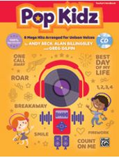 Pop Kidz (8 Mega Hits Arranged for Unison Voices