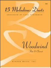 15 Melodious Duets - Flute and Clarinet
