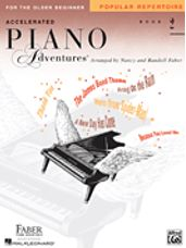 Accelerated Piano Adventures for the Older Beg Popular Repertoire Book 2