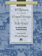 10 Hymns & Gospel Songs for Solo Voice (Med High CD Only)
