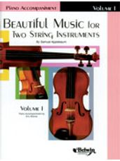 Beautiful Music for Two String Instruments, Book I [Piano Acc.]