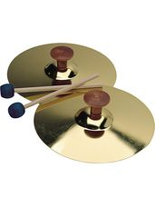 """Cymbals (5""""), pair with Mallets"""