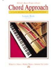 Alfred's Basic Piano Chord Approach Lesson Book 1