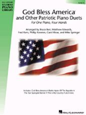 God Bless America and Other Patriotic Piano Duets - Level 4