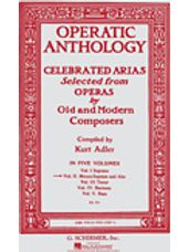 Operatic Anthology - Volume 2 (Mezzo Soprano)