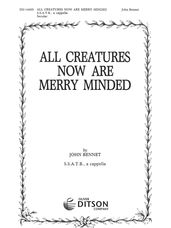 All Creatures are Merry Minded