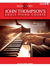 John Thompson's Adult Piano Course - Book 2 (Book/Audio)