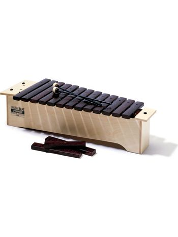 Global Beat Soprano Xylophone, hardwood bars