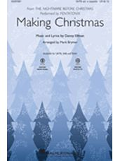 Making Christmas (from The Nightmare Before Christmas) (arr. Mark Brymer)
