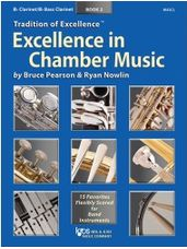 Excellence in Chamber Music Book 2 - Clarinet