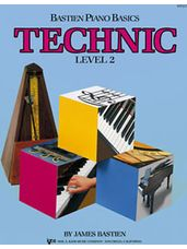 Bastien Piano Basics Level 2 Technic