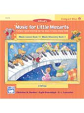 CD 2-Disk Sets for Lesson and Discovery Books, Level 1 Music for Little Mozarts
