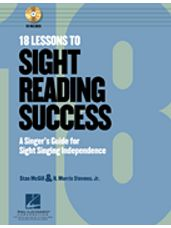 18 Lessons to Sight-Reading Success (Bk/CD)