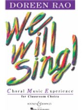 We Will Sing!