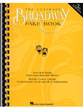 Ultimate Broadway Fake Book, The - 4th Edition