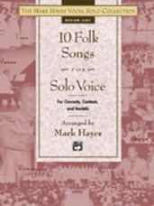 10 Folk Songs for Solo Voice (Book)