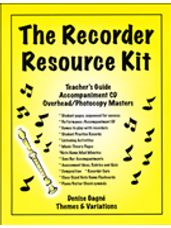 Complete Recorder Resource Kit 1