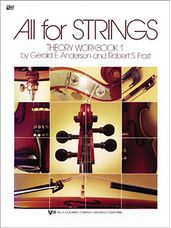All For Strings Theory Workbook 1-Cello