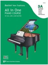 Bastien All In One Piano Course - Level 3A